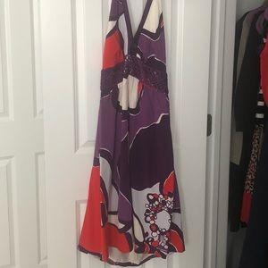 ❤️sale❤️ Halter style Beth bowley dress size 8